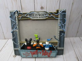 H DISNEY 3D TOWER OF TERROR Picture Frame Hollywood Hotel Mickey Mouse - $44.54