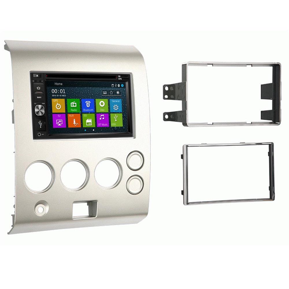 DVD GPS Navigation Multimedia Radio and Dash Kit for Nissan Titan 2006