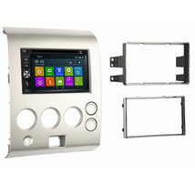 DVD GPS Navigation Multimedia Radio and Dash Kit for Nissan Titan 2006 - $277.19