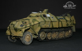 German SdKfz 8 DB10 Gepanzerte 12t WW2 1:35 Pro Built Model - $292.05