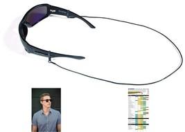 Croakies Premium Leather Cord Fashion Eyewear Retainer 24 Inches Black - $12.15