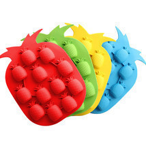 DIY Pineapple Shape Ice Mold Drink Ice Cream Cube Maker Bar Party Ice Tr... - $11.50