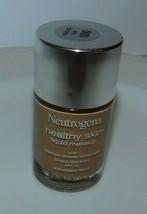Neutrogena Healthy Skin Liquid Makeup NATURAL TAN 100 1 fl OZ New - $14.99
