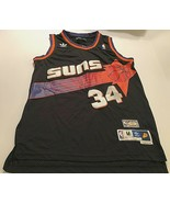 Phoenix Suns Charles Barkley #34 NBA Hardwood Classics Black Swingman Je... - $39.59