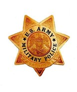 PICTURE POSTCARD- UNITED STATES ARMY MILITARY POLICE BADGE INSIGNIA BK12 - $1.96