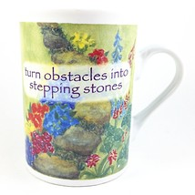 Turn Obstacles Into Stepping Stones Coffee Mug 8oz Chicken Soup for Soul... - $16.99