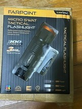 Farpoint Micro Swat Tactical  Flashlight 300 Lumens  LED Flashlight-Brand New