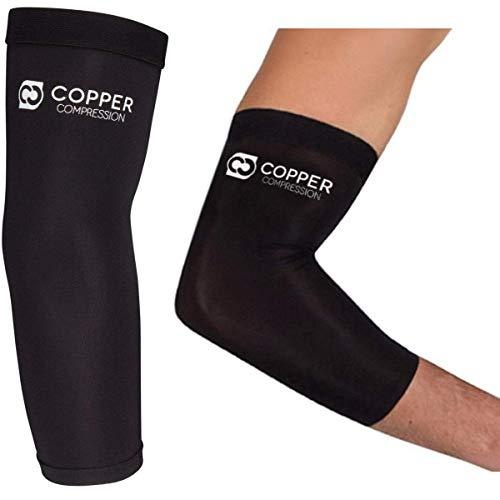 Copper Compression Recovery Elbow Sleeve - Highest Copper Content Elbow Brace fo