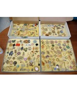 Elderly Lady's Vintage Pin and Brooch Collection - $284.99