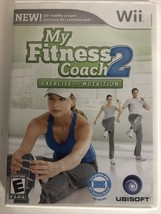 Nintendo Wii Game My Fitness Coach 2 Exercise And Nutrition, 2010, Great! - $6.88