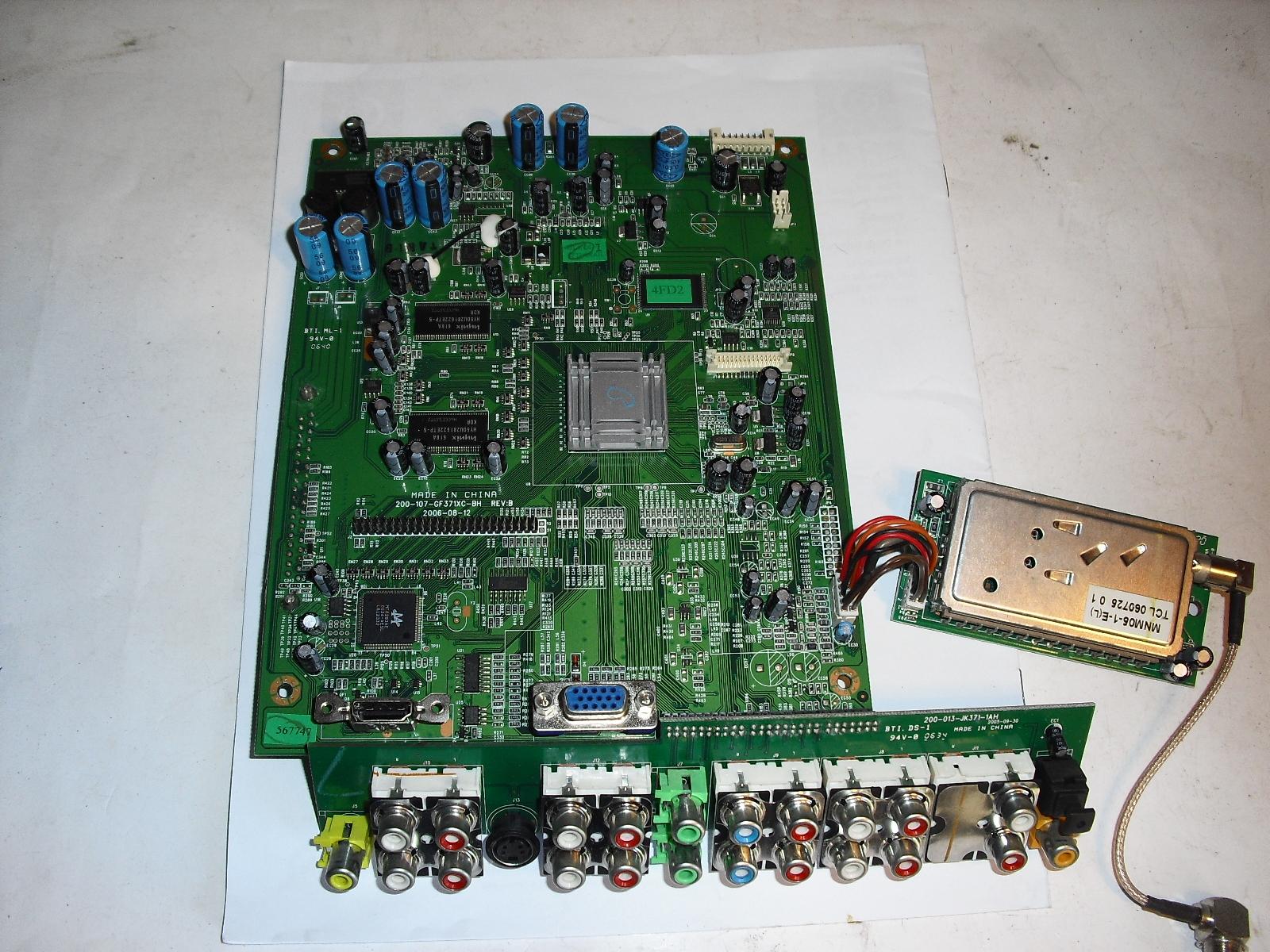 899-kq0-ef3210xah rev  .01  main  board  for  mag  polaroid  flm323  - $34.99