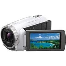 SONY HDR-PJ680 W video camera 64GB optical 30 times white Handycam - $772.61