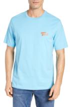 "TOMMY BAHAMA Graphic T-Shirt  ""Stoutrigger"", Seaspray Blue, XLT - $42.52"
