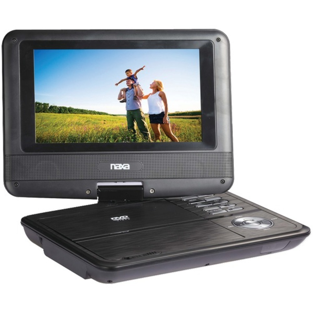 "Primary image for Naxa NPD703 7"" TFT LCD Swivel-Screen Portable DVD Player"