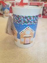 Christmas Mug houses upc 639277820754 rare Vintage looking almost 5 inch... - $16.54