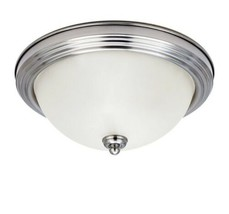 ✅***Sea Gull Lighting 1-Light Holman Brushed Nickel Ceiling Flush Mount***✅ - $24.44