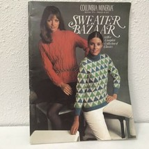 Columbia Minerva Book 771 Vtg 1969 Sweater Bazaar Pattern Book - $7.91