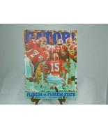 UNIVERSITY OF FLORIDA GATOR FOOTBALL PROGRAM December 1983 VS Florida St... - $28.70