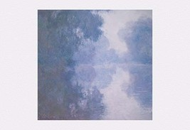 The Seine at Giverny, Morning Mists by Claude Monet - Art Print - $19.99+