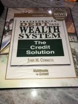 Transforming Debt into Wealth System John Cummuta 2 Audio CD's, Workbook... - $21.55