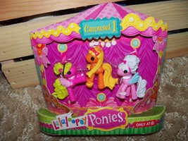 Lalaloopsy Ponies - Carousel 1 (3 Pack) New Last One Exclusive For Target Only - $18.40