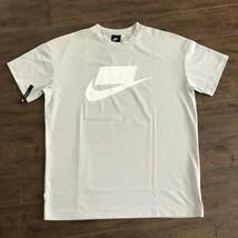 Nike Sportswear Nsw Mesh Tee Light Bone White 928627 072 Us Mens Sz Xl - $49.49