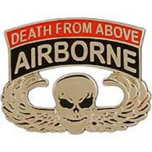 US Army Pararescue Airborne Death Badge Pin - $9.89