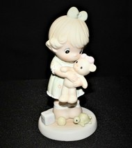 Precious Moments 1993 Loving Figurine Members Only No. PM932 Butterfly Trademark - $15.00