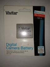 New!!!Vivitar Digital Camera Battery In B - 4 L Fits Canon - $7.69