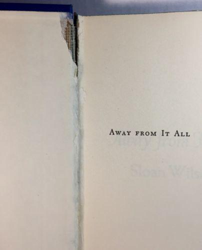 Sloan Wilson Book Lot 2 Janus Island Away From It All 1960's Hardcover DJ  image 6