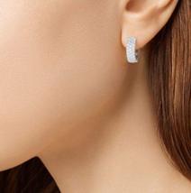 14K White earrings  - $23.00