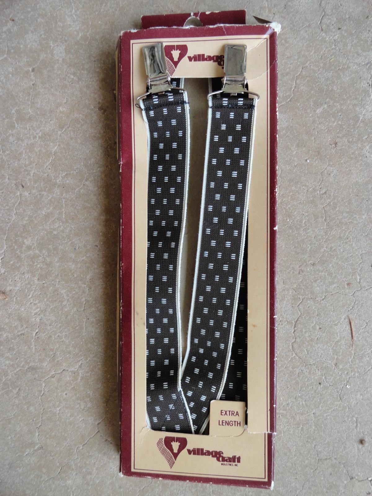 """Vintage Suspenders 40-44"""" by 1"""""""