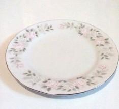 "Sheffield Fine China Bread Plate 6"" Classic 501 Pattern - $5.90"