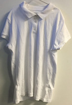 George BOY'S Button Up Collar Polo Shirts RED OR WHITE SIZE 2XL - $10.00