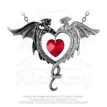 Coeur Sauvage Pendant by Alchemy Gothic - $44.50