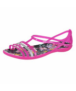CROCS Isabella Graphic Sandal 204858-6JS Candy Pink/Tropical sz 8 9 10 11 - $19.97