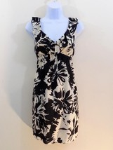 Ann Taylor Loft Dress Size 0 Silk Blend V Neck ... - $20.47