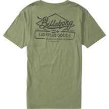 Billabong Men's T-Shirt Five and Dime Army Surplus Green ~ MSRP $30 ~ CL... - $16.75