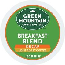 Green Mountain Coffee Roasters Breakfast Blend Decaf, Single Serve Coffe... - $26.37