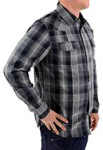 NEW NWT LEVI'S MEN'S LONG SLEEVE BUTTON UP CASUAL DRESS SHIRT GRAY 3LYLW0042 image 3