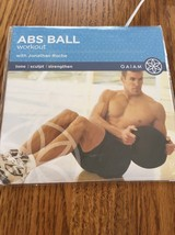 abs ball workout gaiam dvd - $13.58