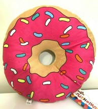 Large 9.5 inch Homer's Donut Plush Toy Simpsons. Soft. New - $12.73