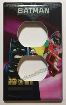 Lego Batman Movie with Robin Light Switch Outlet wall Cover Plate Home Decor image 2