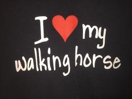 I love My Walking Horse Unisex beautiful t shirt large size - $1.82