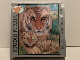 New Sealed Studio Puzzle Mother Tiger Bits and Pieces Jigsaw 500 pieces - $4.95