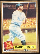 2011 Topps Heritage #139. Babe Ruth - $3.00