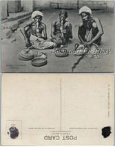 1930s Sri Lanka Ceylon Natives Snake Charmers  VINTAGE POSTCARD - $9.99