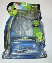 """Ben 10 - Goop - 5"""" Deluxe Alien Collection Figure Alien Force Clear - $39.99"""