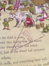 1967 The Thieving Dwarfs (First Edition) by Mary Calhoun hardcover book image 7