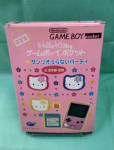 Nintendo Game Boy Pocket Limited Edition Sanrio Video Game From Japan Of... - $133.64